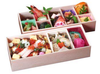 110 紅ズワイ蟹のちらし寿司重弁当