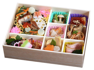 寿司御膳「彩り弁当」